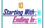 Ten letter words starting with H and ending in H